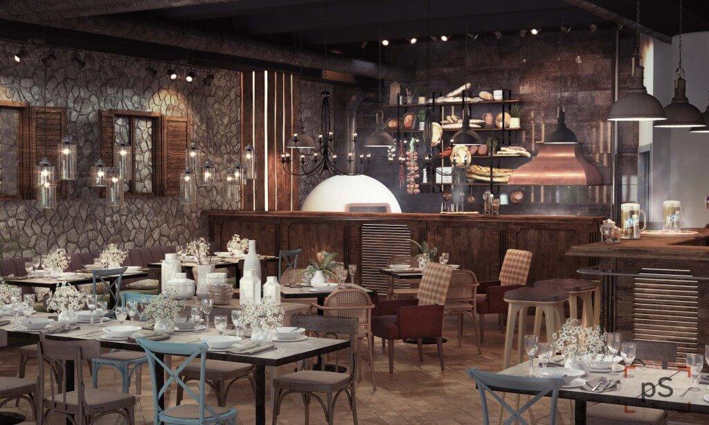 Дизайн кафе баров ресторанов2