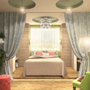 Дизайн однокомнатной квартиры - 3