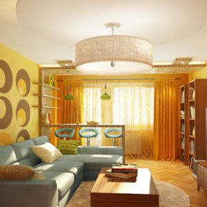 Дизайн однокомнатной квартиры - 2