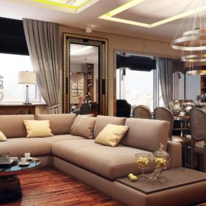 Дизайн четырехкомнатной квартиры - 2