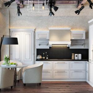Дизайн четырехкомнатной квартиры - 3