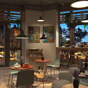 Дизайн кафе, баров, ресторанов - 1