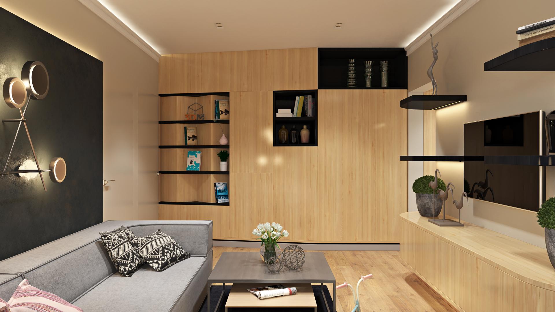Дизайн квартиры в домах серии п44т 3