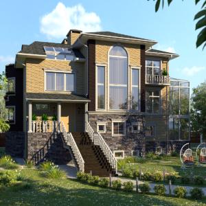 Дизайн частного дома - 3
