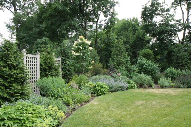 Английский сад в 2016 году