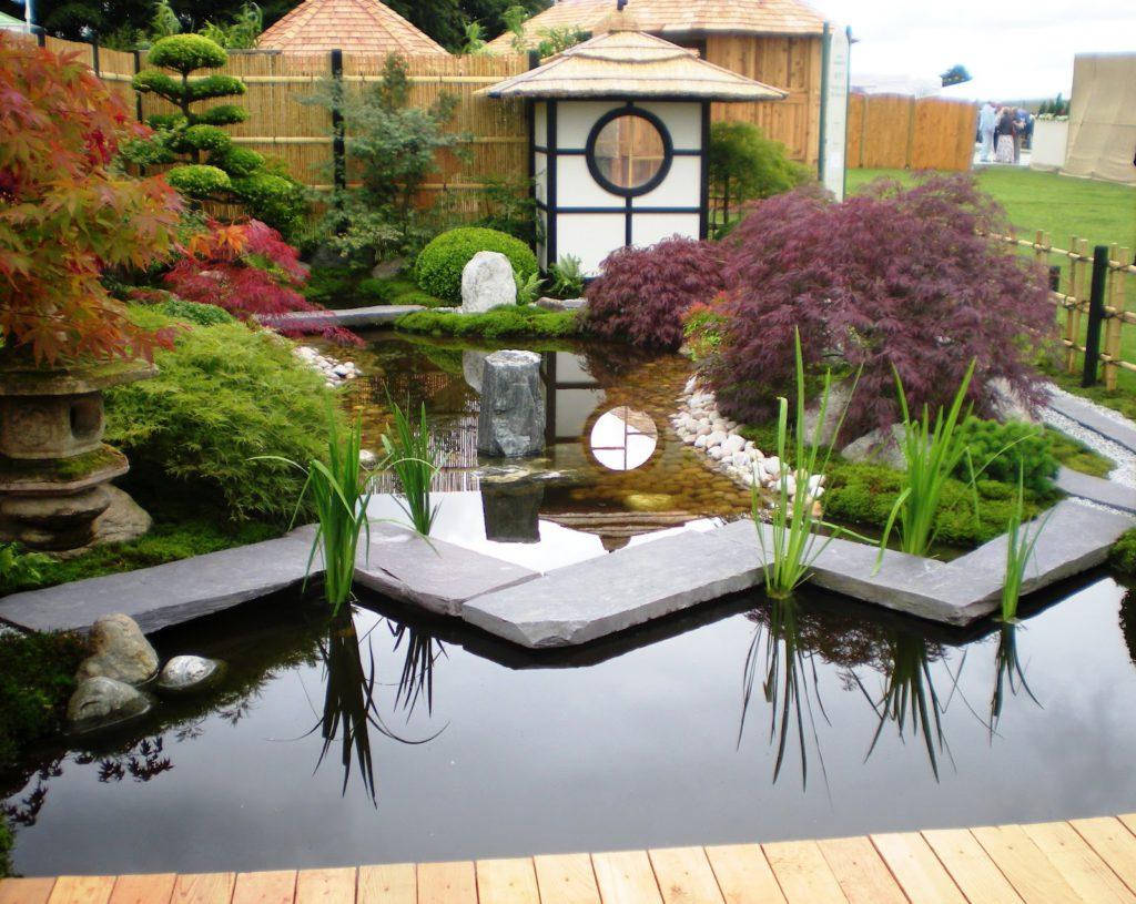 Японский сад в 2016 году