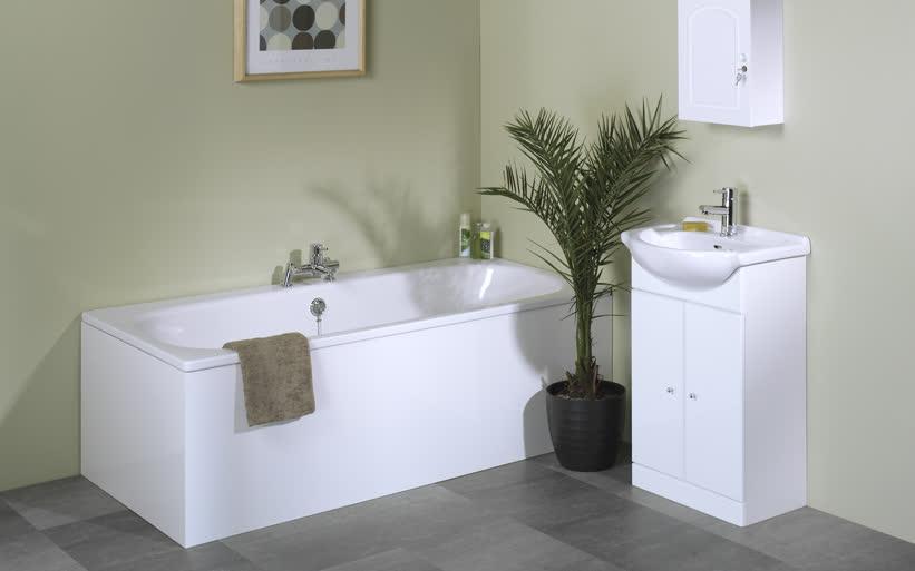 Дизайн современной ванной комнаты в классическом стиле