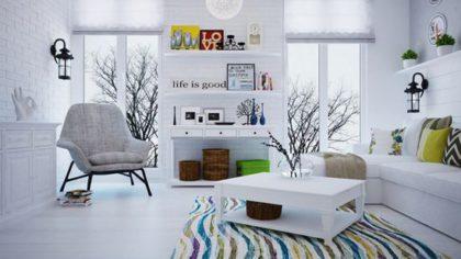 План расстановки мебели, светильников и выключателей 10