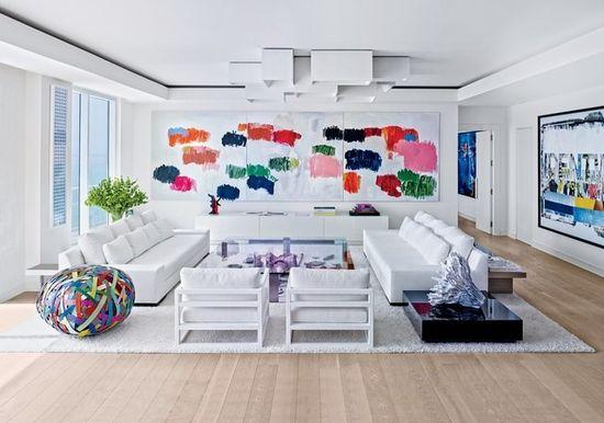 Дизайн квартиры в современном стиле - фото