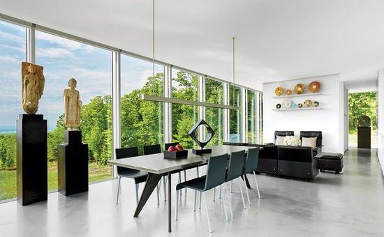 Дизайн интерьера в современном стиле - фото
