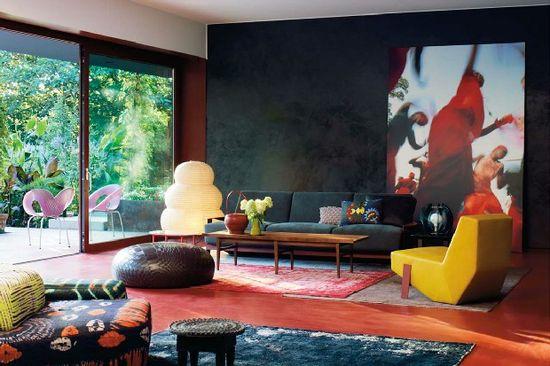 Дизайн гостиной в современном стиле - фото