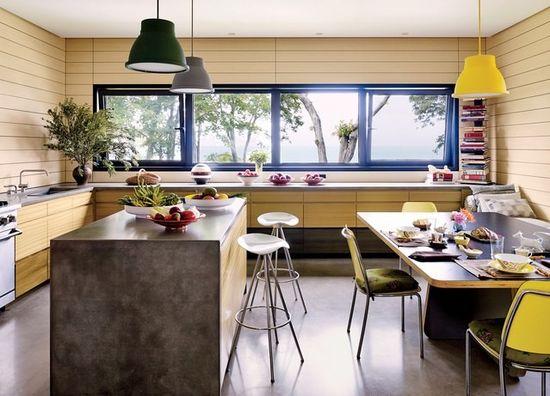 Дизайн кухни в современном стиле - фото