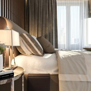 Дизайн проект 3 комнатной квартиры п 55м - 1